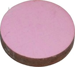 circular pink magnets pack of four