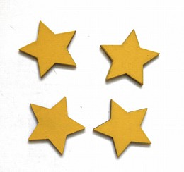 Yellow Star Magnets