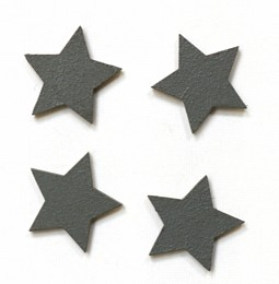 Grey Star Magnets