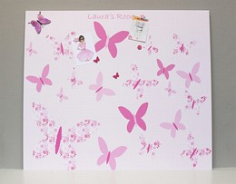 Giant Personalised Butterfly Noticeboard