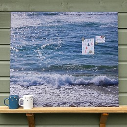 Giant Photo Magnetic Noticeboard