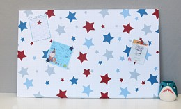 Blue and Red Stars Large