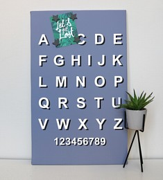 Grey Typography Noticeboard